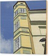 Typically Prague Wood Print