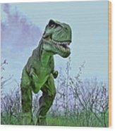 Tyrannosaurus Rex  T- Rex Wood Print