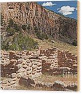 Tyuonyi Bandelier National Monument Wood Print