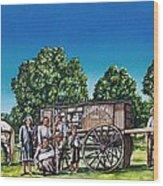 U. G. Earp And Family Wood Print