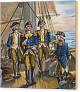 U S Navy Commander In Chief Of The Fleet Wood Print by The Werner Company