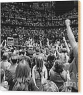 U2-crowd-gp13 Wood Print