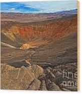 Ubehebe At Death Valley Wood Print