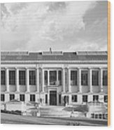Uc Berkeley Doe Memorial Library Wood Print