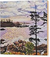 Ucluelet In December Wood Print