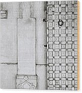 Udaipur City Palace Door Wood Print