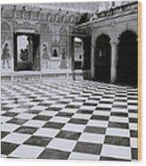 Udaipur Royalty Wood Print
