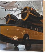 Udvar-hazy Center - Smithsonian National Air And Space Museum Annex - 1212100 Wood Print