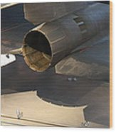 Udvar-hazy Center - Smithsonian National Air And Space Museum Annex - 1212108 Wood Print by DC Photographer
