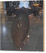 Udvar-hazy Center - Smithsonian National Air And Space Museum Annex - 12123 Wood Print