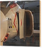 Udvar-hazy Center - Smithsonian National Air And Space Museum Annex - 121232 Wood Print