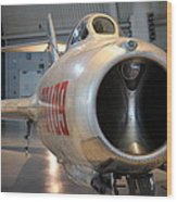Udvar-hazy Center - Smithsonian National Air And Space Museum Annex - 121243 Wood Print