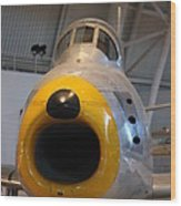 Udvar-hazy Center - Smithsonian National Air And Space Museum Annex - 121244 Wood Print by DC Photographer