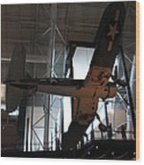 Udvar-hazy Center - Smithsonian National Air And Space Museum Annex - 121248 Wood Print