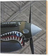 Udvar-hazy Center - Smithsonian National Air And Space Museum Annex - 121253 Wood Print by DC Photographer