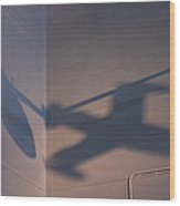 Udvar-hazy Center - Smithsonian National Air And Space Museum Annex - 121259 Wood Print by DC Photographer