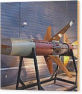 Udvar-hazy Center - Smithsonian National Air And Space Museum Annex - 121260 Wood Print by DC Photographer