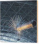 Udvar-hazy Center - Smithsonian National Air And Space Museum Annex - 121263 Wood Print by DC Photographer