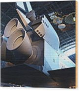 Udvar-hazy Center - Smithsonian National Air And Space Museum Annex - 121272 Wood Print