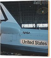 Udvar-hazy Center - Smithsonian National Air And Space Museum Annex - 121276 Wood Print