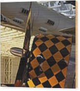 Udvar-hazy Center - Smithsonian National Air And Space Museum Annex - 121289 Wood Print