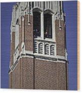 Uf Century Tower  Wood Print