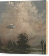 Ufo's - A Scouting Party Wood Print
