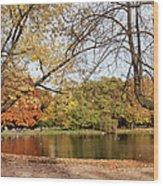 Ujazdowski Park In Warsaw Wood Print