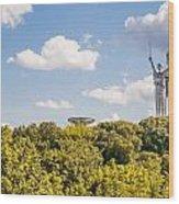 Ukraine Motherland Statue  Wood Print