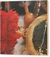 Uliuli Hula Ahui Ko'i Ho'i Kahiko Wood Print
