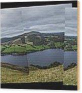 Ullswater From Hallin Fell Wood Print