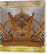 Ulm Pipe Organ Wood Print