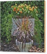Ultimate Flower Pot 2 Wood Print