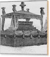 Ulysses Grant Funeral Wood Print