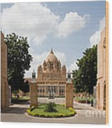 Umaid Bhawan Palace, India Wood Print