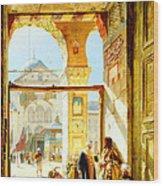 Umayyad Mosque Wood Print