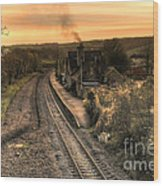 Umberleigh Station  Wood Print