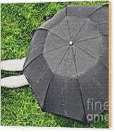 Umbrella Dreams Wood Print