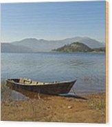 Umiam Lake Wood Print