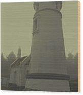 Umpqua Lighthouse 2 Wood Print