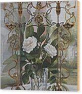 Una Finestra Liberty Wood Print