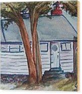 Uncle Bills Cottage Wood Print