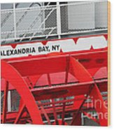 Uncle Sam Bout Tour Alexandria Bay Wood Print