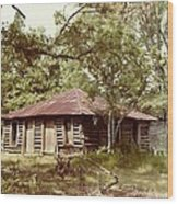 Uncle Toms Cabin Brookhaven Mississippi Wood Print