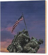 Uncommon Valor Was A Common Virtue Wood Print