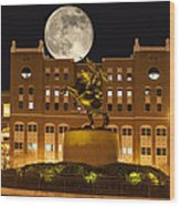 Unconquered Doak Campbell Full Moon Wood Print