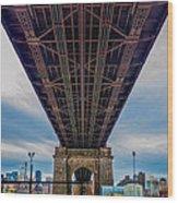 Under 59th Street Bridge Wood Print