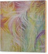 Under His Wings Wood Print