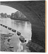 Under Richmond Bridge Wood Print