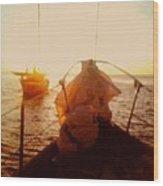 Under Sail Wood Print